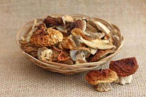 Сушеные белые грибы в москве